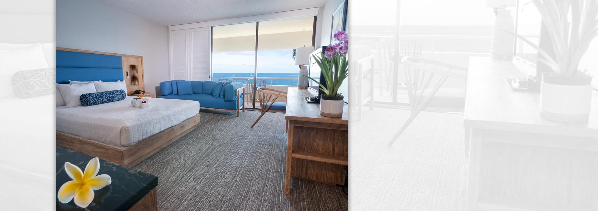 royal kona resort ocean view room